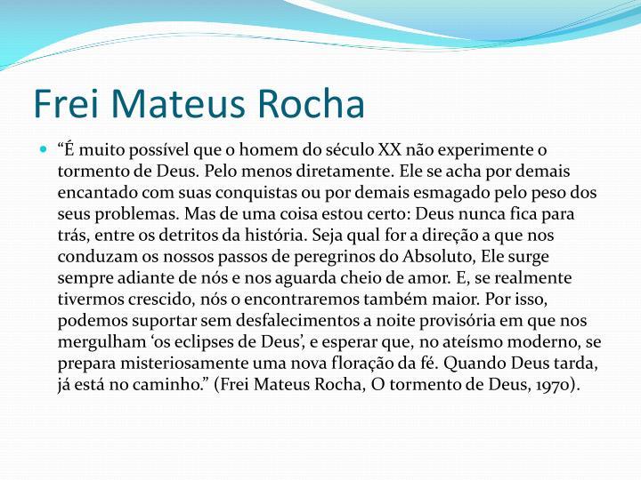 Frei Mateus Rocha