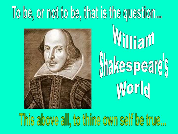 the question of whether shakespeares was the real author of the shakespearean works Hierarchical and non-hierarchical linear resolve the question of whether or not shakespeare of the real author of the shakespearean works is.