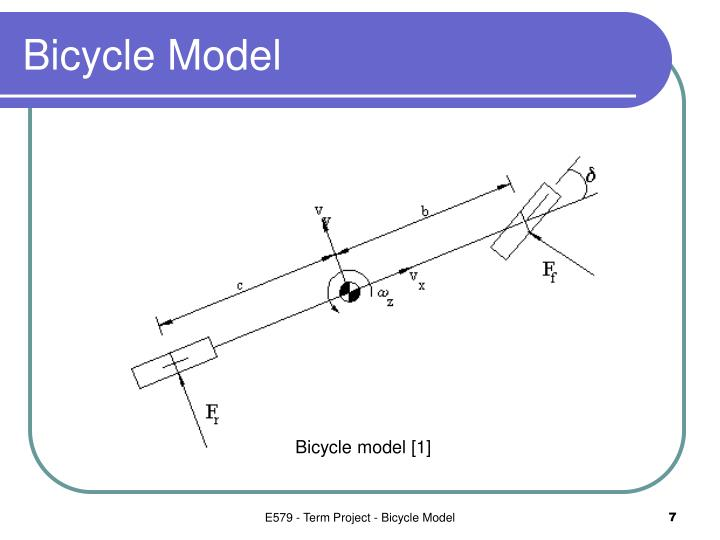 Bicycle Model
