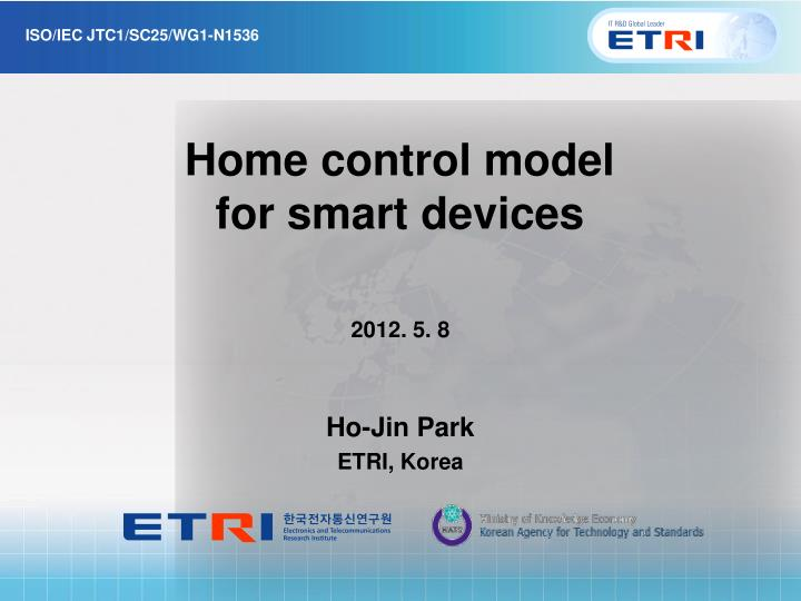 home control model for smart devices n.