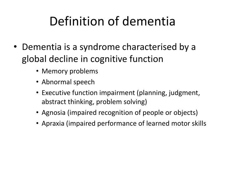 ppt - palliative care for people with dementia powerpoint presentation