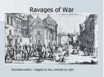 ravages of war1