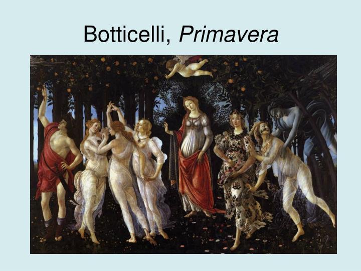Botticelli,