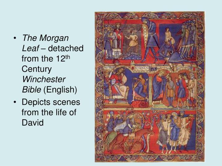 The Morgan Leaf
