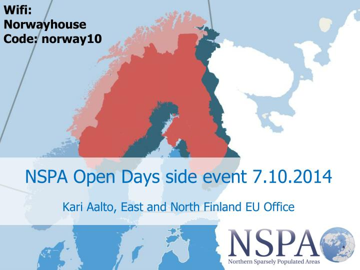 nspa open days side event 7 10 2014 n.