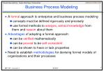 business process modeling1