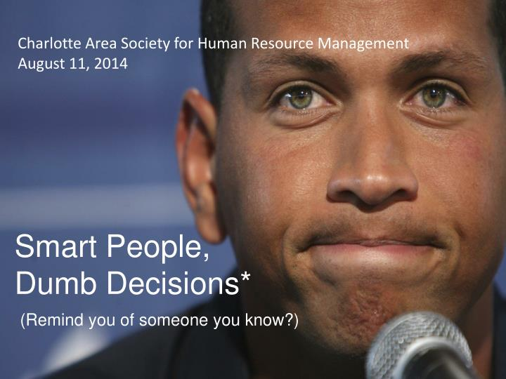 Charlotte Area Society for Human Resource Management