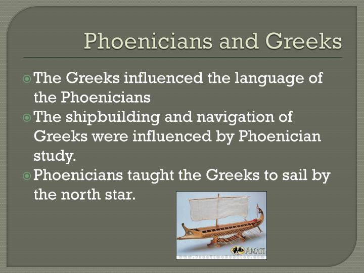 Phoenicians and Greeks