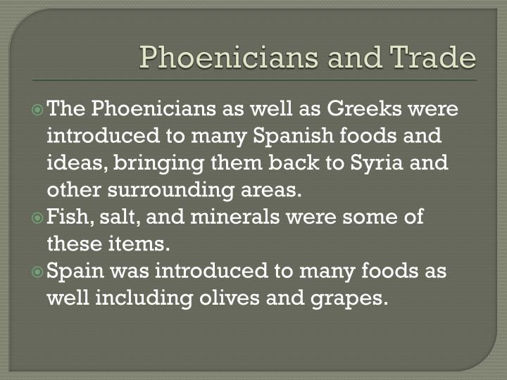 Phoenicians and Trade