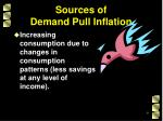sources of demand pull inflation5