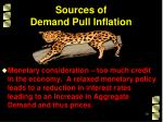 sources of demand pull inflation6