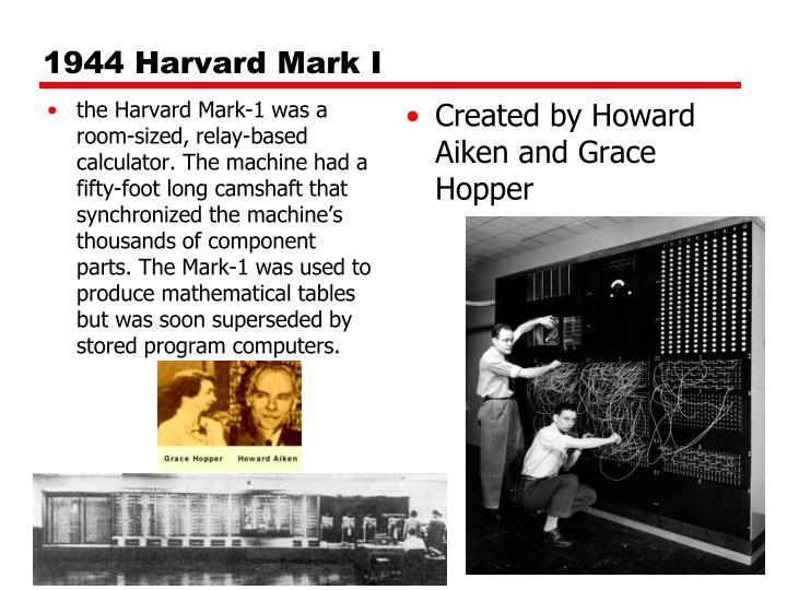 1944 Harvard Mark I