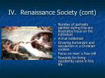 iv renaissance society cont2
