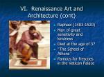 vi renaissance art and architecture cont3