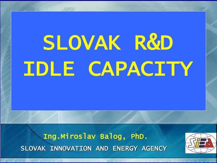 slovak innovation and energy agency n.