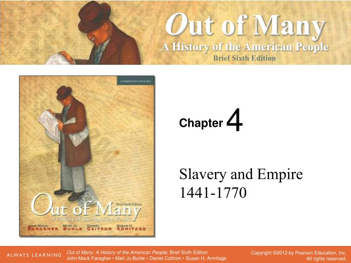 slavery and empire 1441 1770 n.