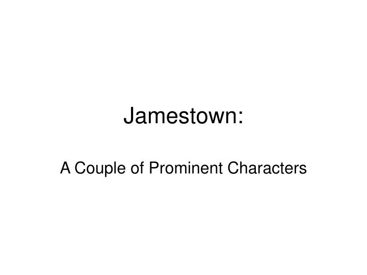jamestown n.