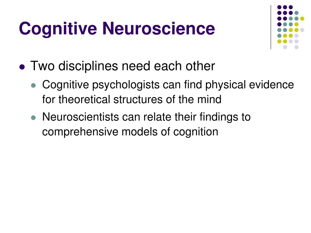 PPT - Cognitive Neuroscience PowerPoint Presentation - ID