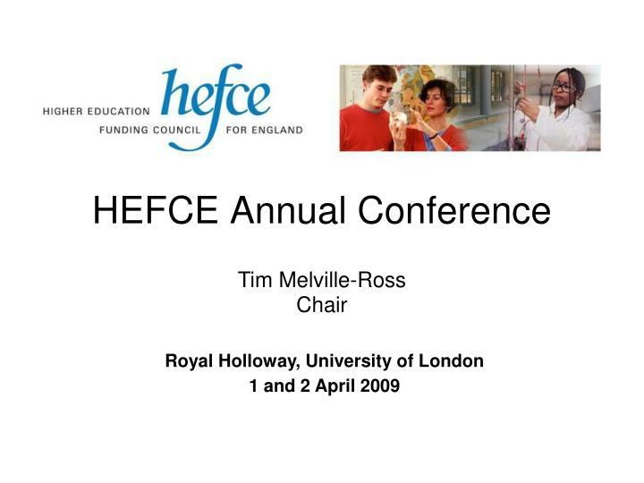 hefce annual conference n.
