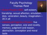 faculty psychology thomas reid