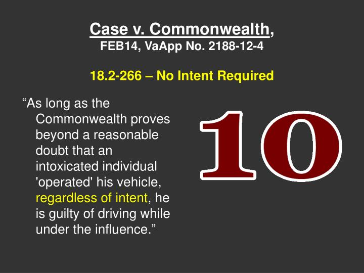 Case v. Commonwealth