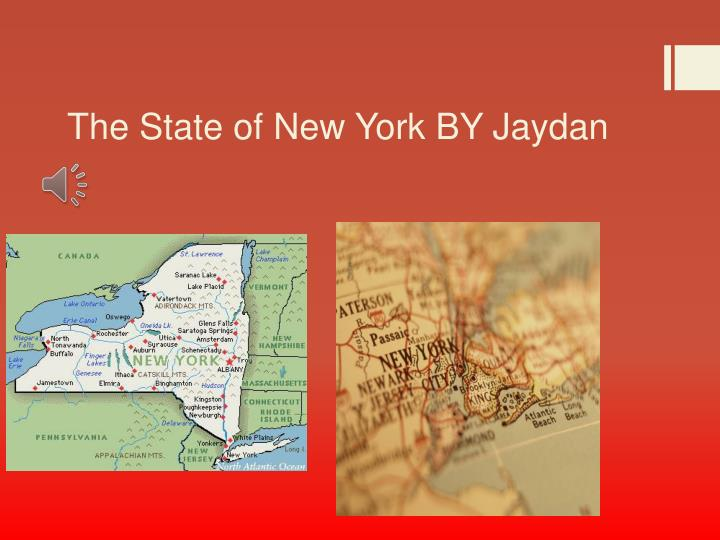 The state of new york by jaydan
