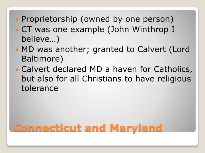 Proprietorship (owned by one person)