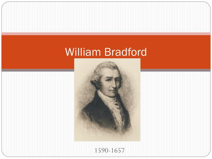 william bradford n.