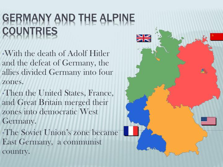germany and the alpine countries n.