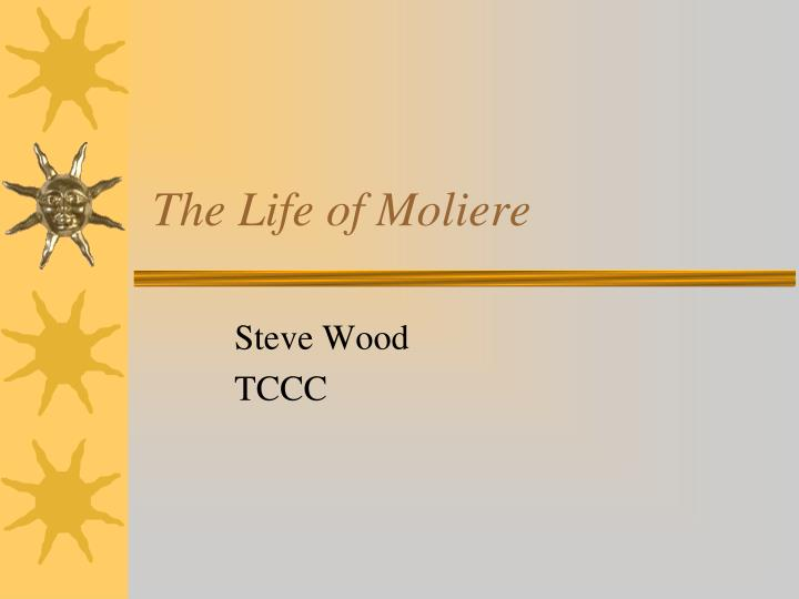 the life of moliere n.