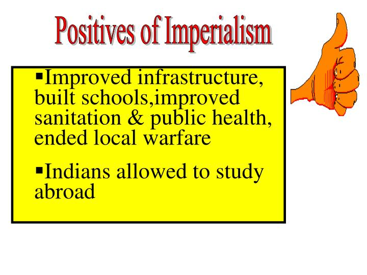 Positives of Imperialism