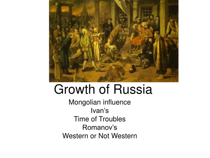growth of russia n.