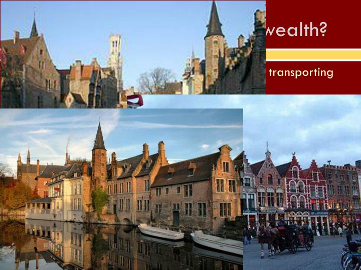How did Dutch spend new wealth?