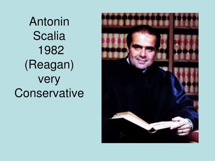 Antonin Scalia