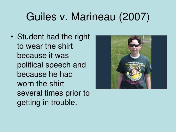 Guiles v. Marineau (2007)