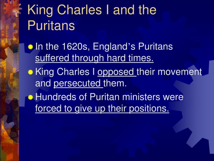 King Charles I and the Puritans