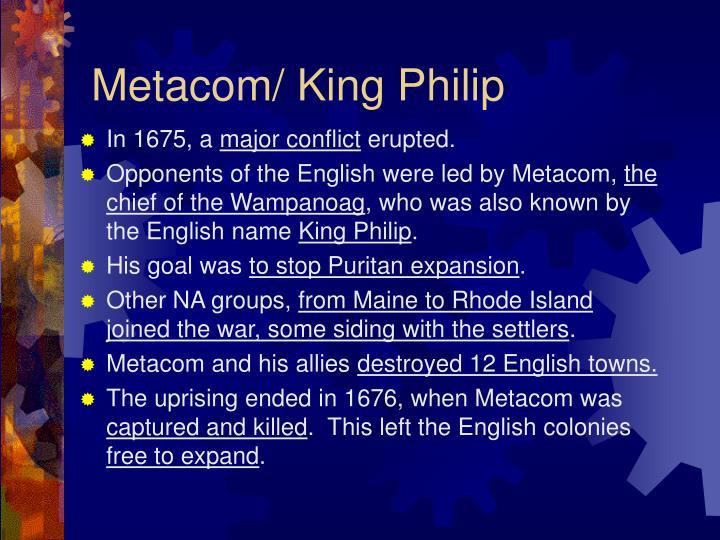 Metacom/ King Philip