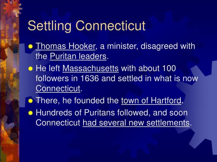 Settling Connecticut