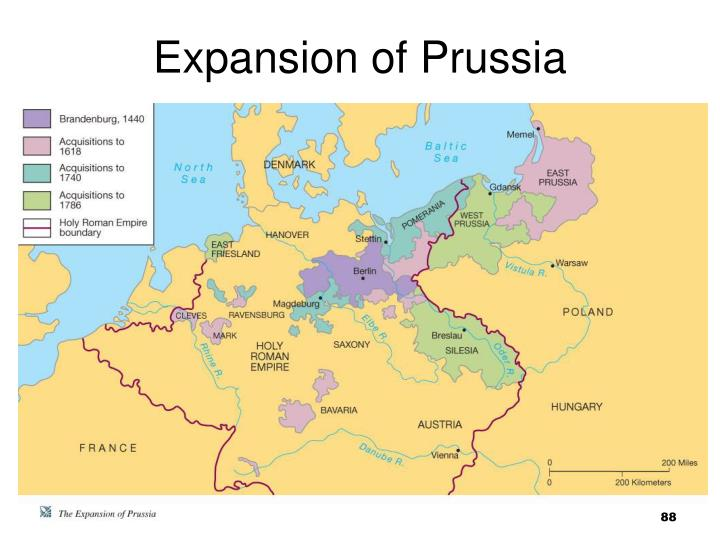 Expansion of Prussia
