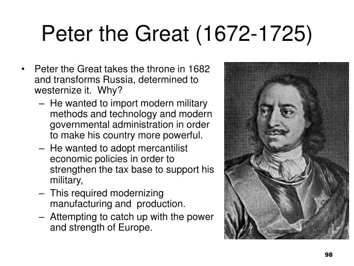 Peter the Great (1672-1725)