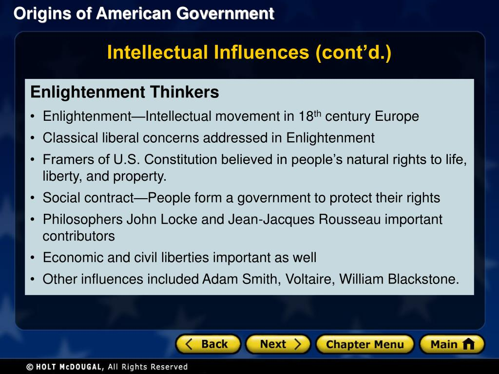 PPT - Section 1: The Roots of American Democracy Section 2 ...
