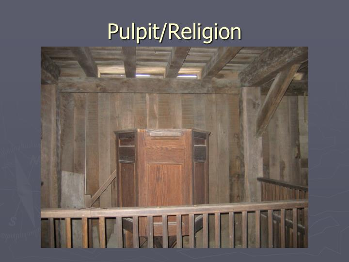 Pulpit/Religion
