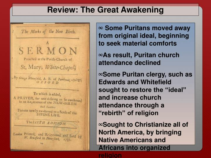 Review: The Great Awakening