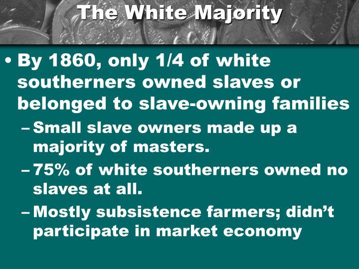 The White Majority
