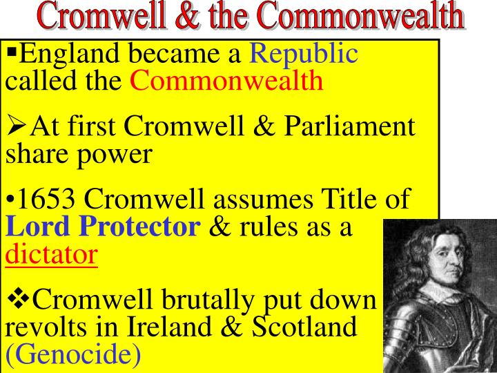Cromwell & the Commonwealth