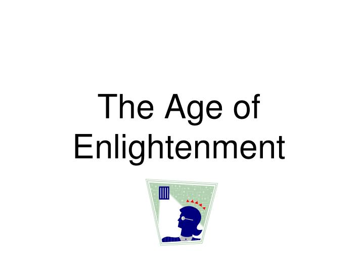 the age of enlightenment n.