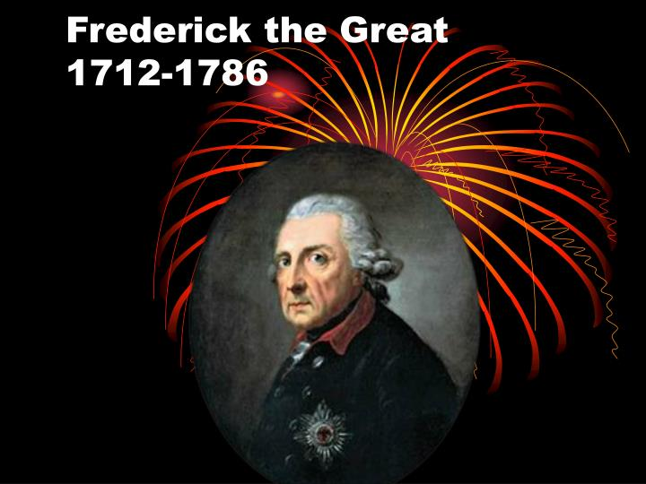 frederick the great 1712 1786