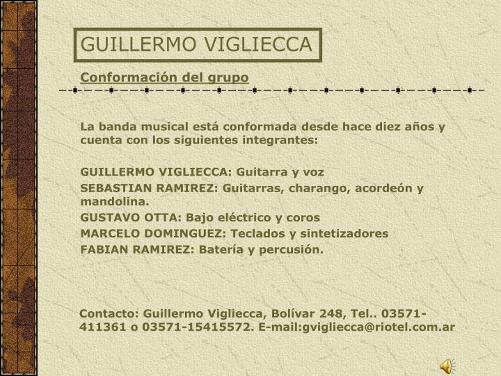GUILLERMO VIGLIECCA