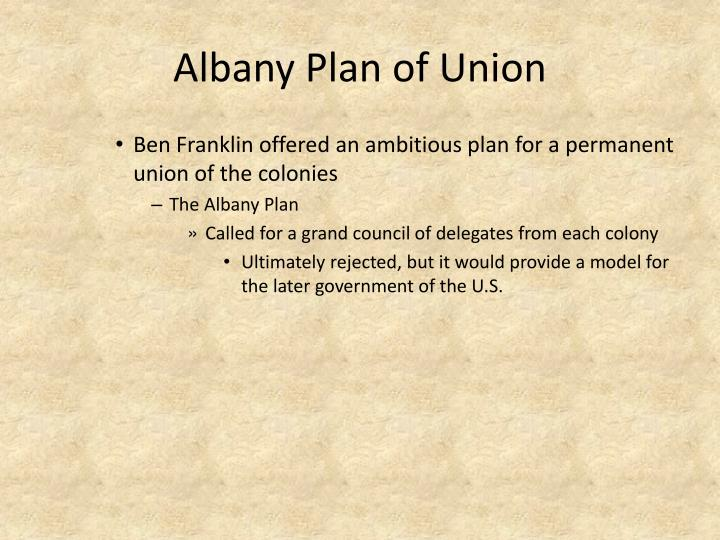 Ultimately The Albany Plan Of Union Was Rejected 2018 Cars Models