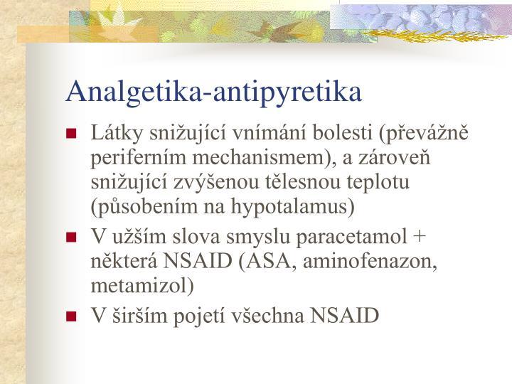 Analgetika antipyretika1